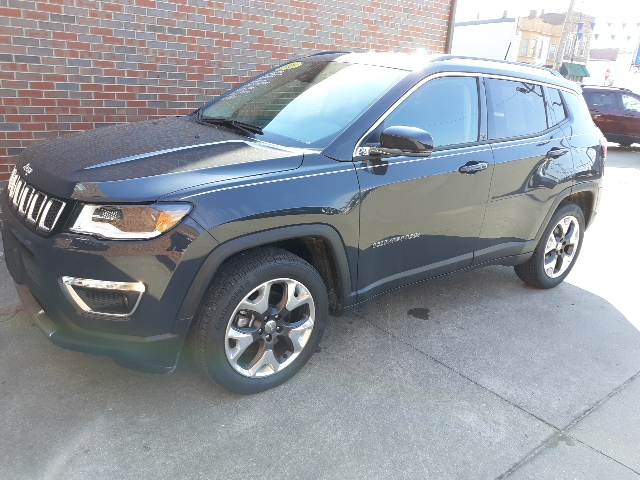 2018 Jeep Compass Limited FWD SUV Front-wheel Drive