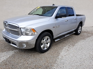 Used 2017 Ram 1500 Big Horn Truck Crew Cab 4x4 Automatic 3C6RR7LT7HG506631 For sale in Clinton, IL