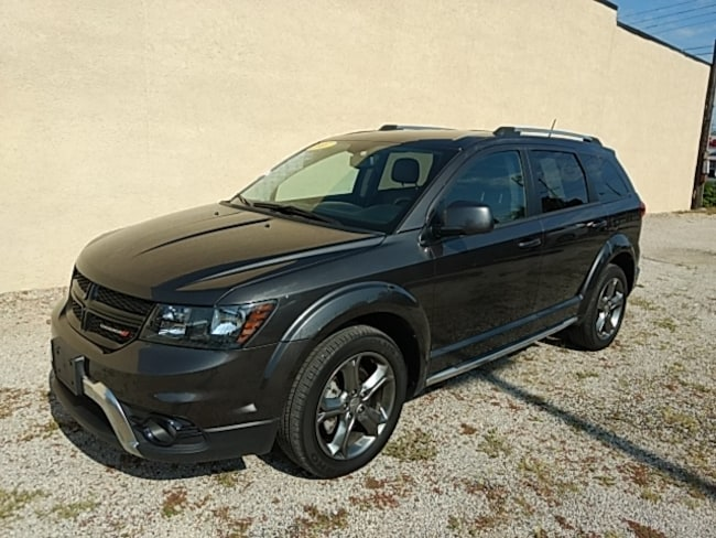 used 2017 dodge journey crossroad for sale clinton il 099s. Black Bedroom Furniture Sets. Home Design Ideas