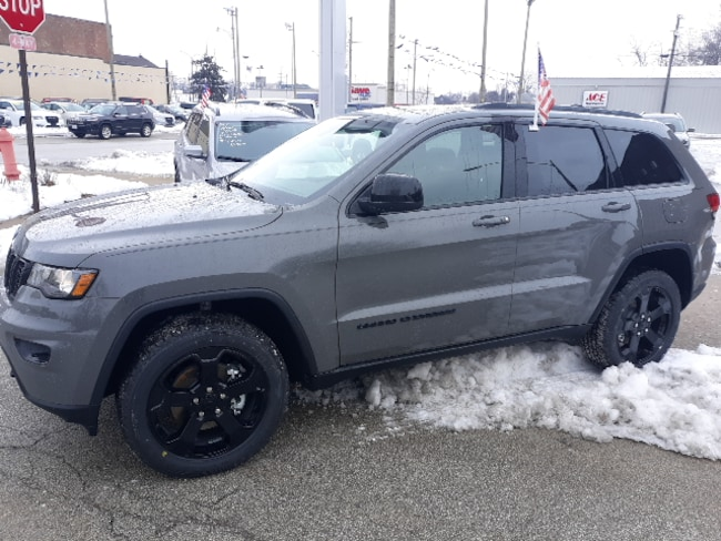 New 2019 Jeep Grand Cherokee UPLAND 4X4 Sport Utility for sale in Clinton, IL