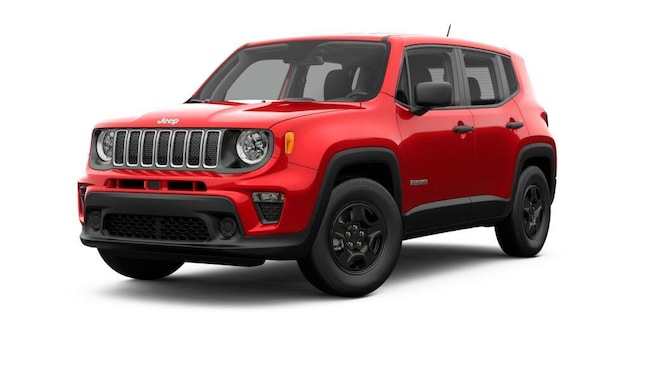 New 2019 Jeep Renegade SPORT 4X4 Sport Utility for sale in Clinton, IL