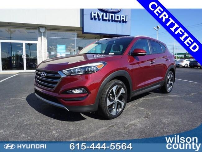 2016 Hyundai Tucson Limited SUV U1613