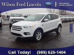 new 2019 Ford Escape SE SUV at wilson ford