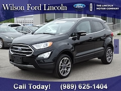 used 2018 Ford EcoSport Titanium SUV at wilson ford