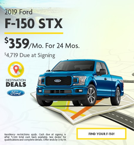 2019 Ford F-150 STX - June