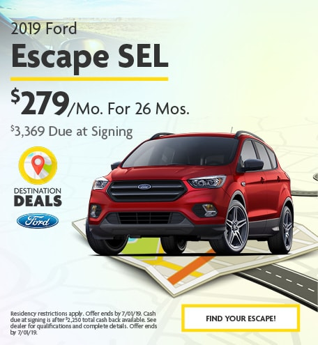 2019 Ford Escape SEL - June