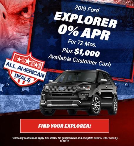 2019 Ford Explorer - July