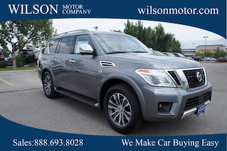 New cars, trucks, and SUVs 2018 Nissan Armada SL SUV for sale near you in Logan, UT