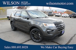 New cars, trucks, and SUVs 2018 Ford Explorer XLT SUV for sale near you in Logan, UT