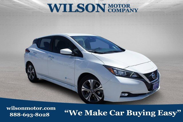Featured New 2018 Nissan LEAF SV Hatchback for sale near you in Logan, UT