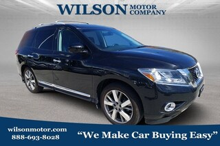 Used 2016 Nissan Pathfinder Platinum SUV for sale near you in Logan, UT