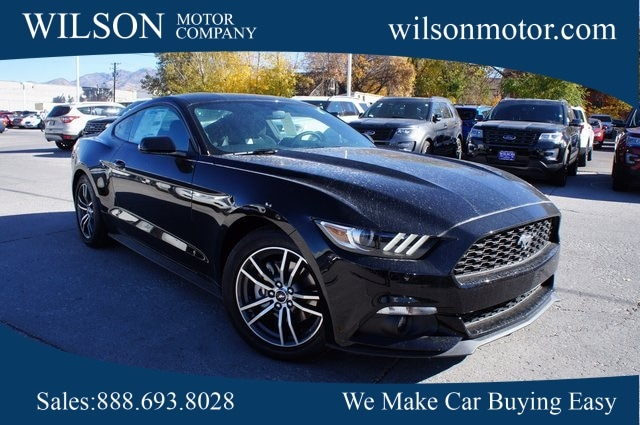 Featured new vehicles 2017 Ford Mustang EcoBoost Coupe for sale near you in Logan, UT