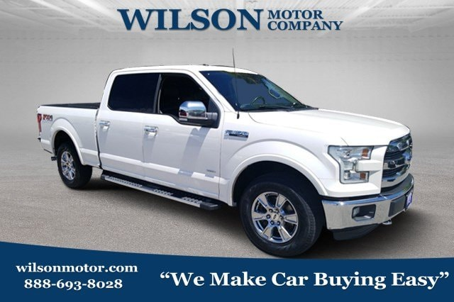 Featured Pre Owned 2016 Ford F-150 Truck SuperCrew Cab for sale near you in Logan, UT