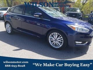 Bargain Used 2016 Ford Focus Titanium Hatchback for sale near you in Logan, UT