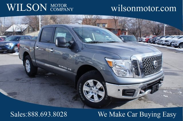Featured New 2018 Nissan Titan SV Truck Crew Cab for sale near you in Logan, UT