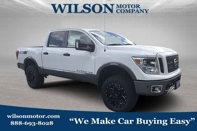 Featured New 2018 Nissan Titan PRO-4X Truck Crew Cab for sale near you in Logan, UT