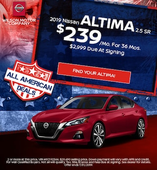 New 2019 Altima - July