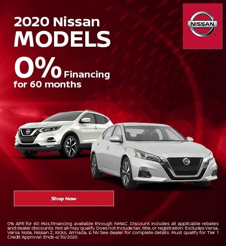 April | 2020, Nissan | Finance