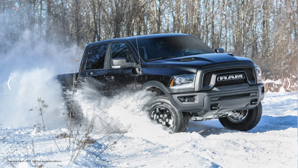 Ram 1500 Rebel Black Front Exterior