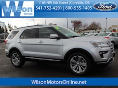 Used 2018 Ford Explorer Limited SUV in Corvallis OR