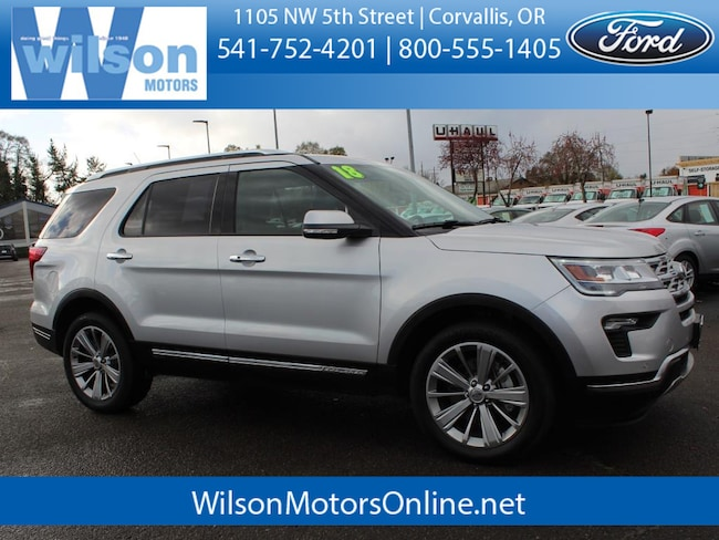 Used 2018 Ford Explorer Limited SUV in Corvallis, OR