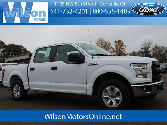 Used 2016 Ford F-150 XL Crew Cab Short Bed Truck in Corvallis, OR