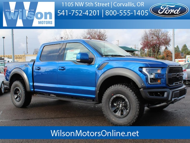 New 2018 Ford F-150 Raptor Truck For Sale/Lease Corvallis, OR