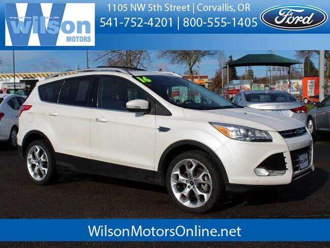 Used 2016 Ford Escape Titanium SUV in Corvallis, OR