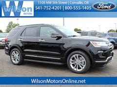 New 2018 Ford Explorer Limited SUV for Sale in Corvallis OR