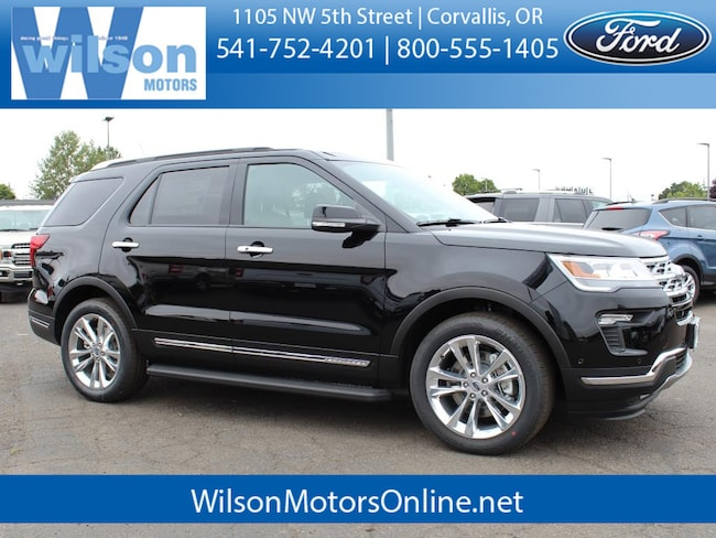 New 2018 Ford Explorer Limited SUV For Sale/Lease Corvallis, OR