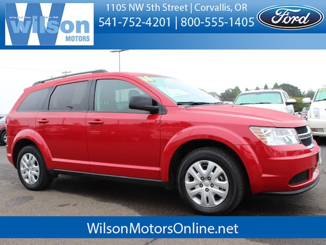 Used 2016 Dodge Journey SE SUV in Corvallis, OR