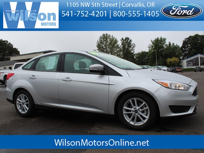 Used 2018 Ford Focus SE Sedan in Corvallis, OR