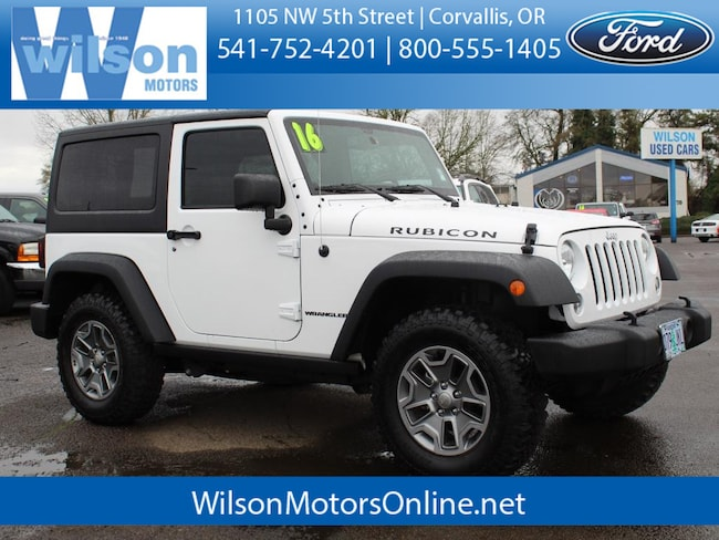 Used 2016 Jeep Wrangler Rubicon SUV in Corvallis, OR