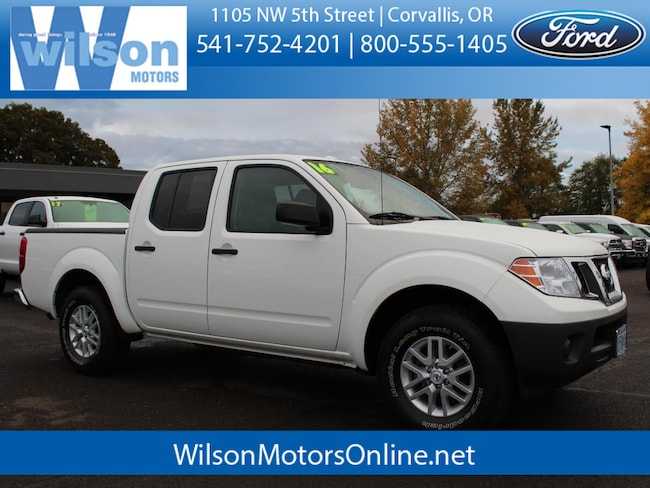 Used 2016 Nissan Frontier SV Crew Cab Truck in Corvallis, OR