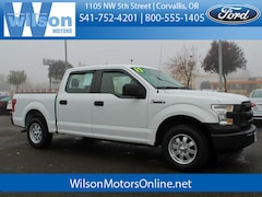 Used 2017 Ford F-150 XL Crew Cab Short Bed Truck in Corvallis OR