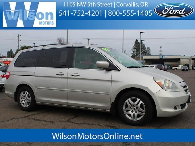 1de0127700 Used 2005 Honda Odyssey EX-L Passenger Van in Corvallis