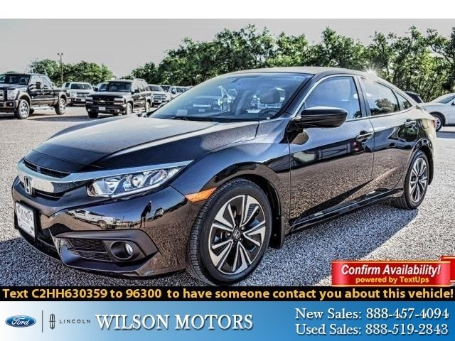 2017 Honda Civic Sedan EX-T EX-T CVT