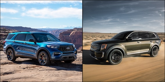 2020 Ford Explorer Vs 2020 Kia Telluride Wilson Motors