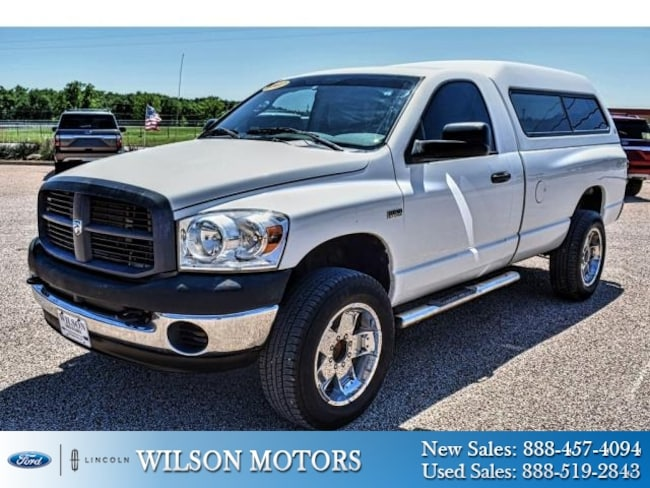 2007 Dodge Ram 2500 ST Long Bed Truck