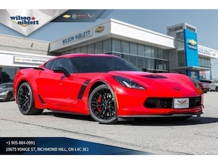 2019 Chevrolet Corvette Z06 | 1LZ | HUD | BOSE | BLACK WHEELS | Coupe