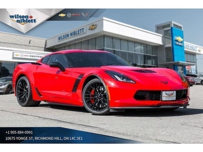 2019 Chevrolet Corvette Z06 | 1LZ | HUD | BOSE | BLACK WHEELS | Coupe