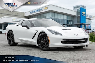 2019 Chevrolet Corvette Stingray | 2LT | NAVIGATION | VENTED SEATS | Coupe