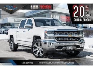 2018 Chevrolet Silverado 1500 1LZ | NAV | SUNROOF | SPRAY-ON BEDLINER | TRAIL Truck