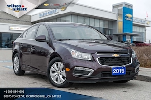 2015 Chevrolet Cruze LT 1LT | REMOTE START | BACK-UP CAMERA | Sedan