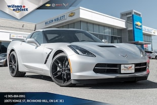 2019 Chevrolet Corvette Stingray | 1LT | Z51 SPOILER | BLACK WHEELS | Coupe