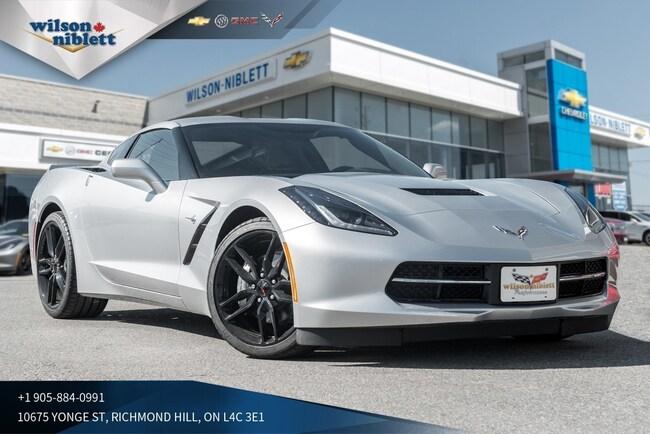 2019 Chevrolet Corvette Stingray | 1LT | Z51 SPOILER | BLACK WHEELS | Coupe
