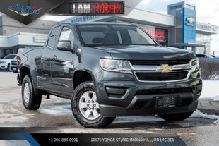 2019 Chevrolet Colorado WT | H.D. TRAILERING | BACK-UP CAMERA | TOUCH | Truck