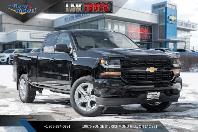 2019 Chevrolet Silverado 1500 Custom | TRAILRING | CHROME WHEELS | Truck