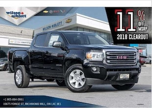 2018 GMC Canyon SLE | BACK-UP CAMERA | TOUCHSCREEN | FOG LIGHTS | Truck