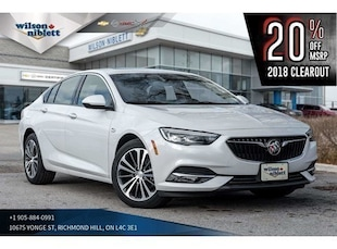 2018 Buick Regal Sportback Preferred II | SUNROOF | LEATHER  Sedan